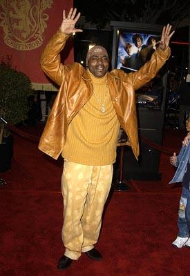 Coolio at the Hollywood premiere of Warner Brothers' Harry Potter and The Chamber of Secrets