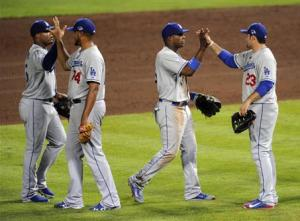 MLB: NLDS-Los Angeles Dodgers at Atlanta Braves