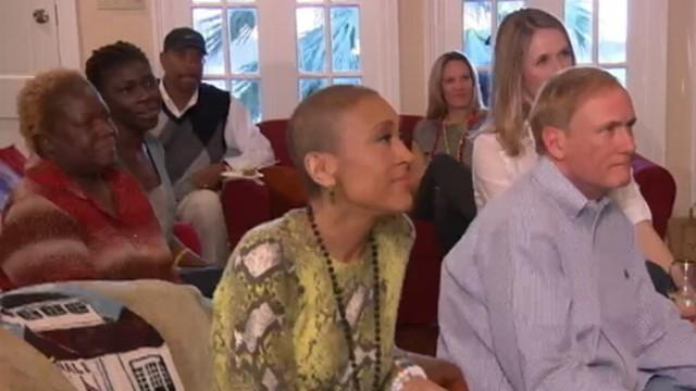 Robin Roberts Continues Recovery With Super Bowl Party
