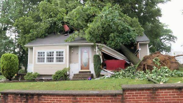 National Weather Service confirms tornado hit Newark, Delaware