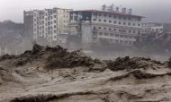 China Floods: Up To 40 Buried In Landslide