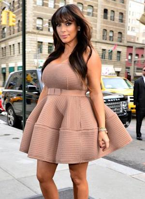 Kim Kardashian is seen on the streets of Manhattan on March 26, 2013 in New York City -- Getty Premium