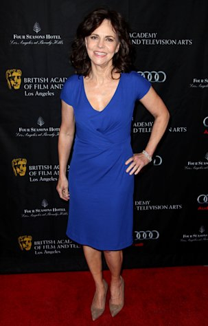 Actress Sally Field arrives at the BAFTA Awards Season Tea Party at The Four Seasons Hotel on Saturday, Jan. 12, 2013, in Los Angeles. (Photo by Matt Sayles/Invision/AP)
