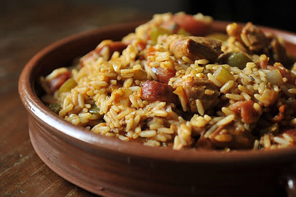 Leftover Turkey Jambalaya