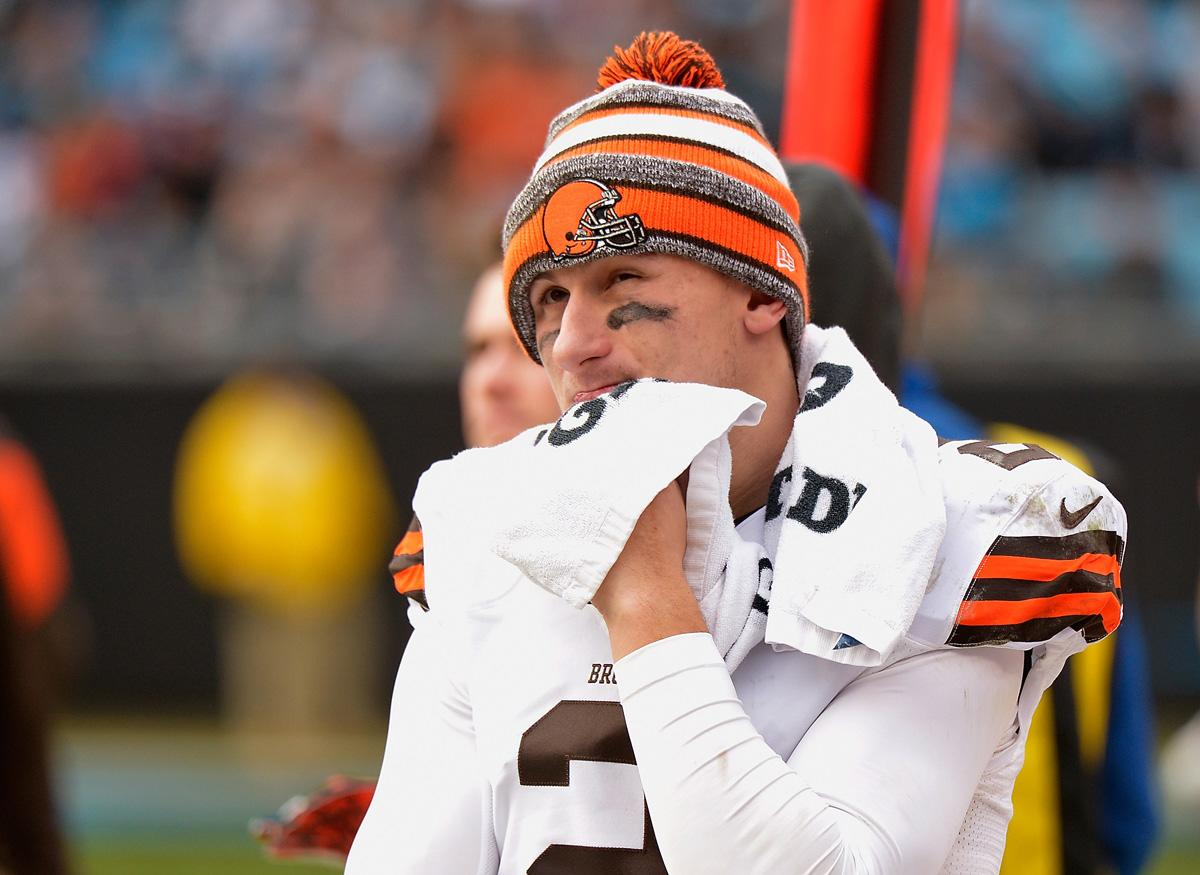 A lake home belonging to Johnny Manziel's family burned down, and arson is suspected