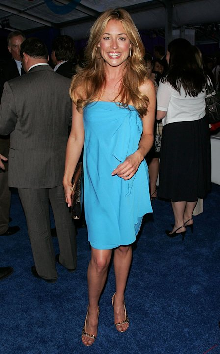 Cat Deeley attends the 2008 FOX UpFront - After Party at Wollman Rink, Central Park on May 15, 2008 in New York City.