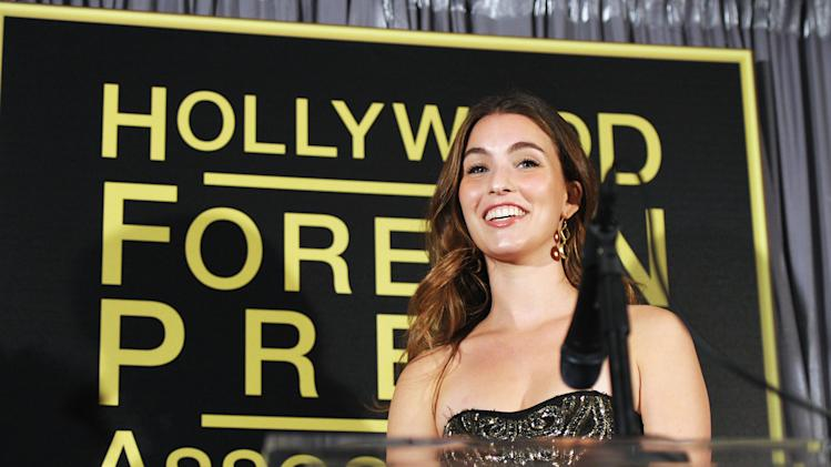 "The Hollywood Foreign Press Association And InStyle Celebrate ""A Night of Firsts"" And The New Miss Golden Globe 2012 Season"