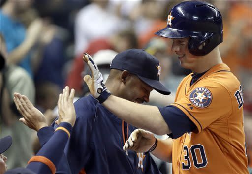 Young's 3-run homer gives A's 6-5 win over Astros
