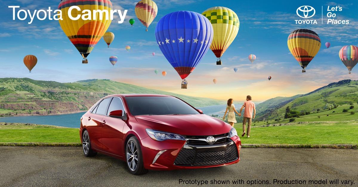 Toyota Camry. Find More You.