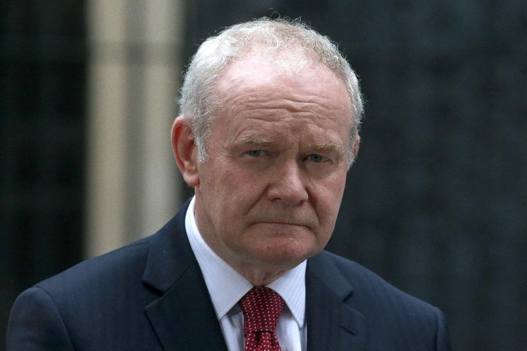 Bad health forces McGuinness to quit N. Ireland politics