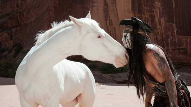 'The Lone Ranger' and the Trouble with White Horses