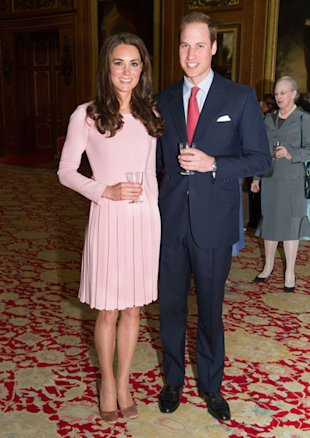 Kate Middleton Wears Pink Emilia Wickstead At Jubilee Lunch