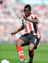 Asamoah Gyan scored 10 league goals for Sunderland