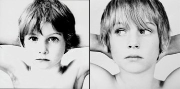 "Cover of U2's album ""Boy"" (L) and an unpublished outtake (R)"