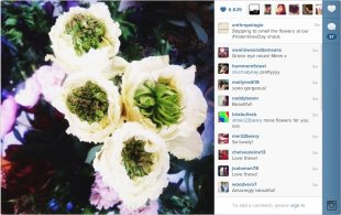 Content Marketing with Instagram: 5 Takeaways From a Brand to Watch image content marketing anthropologie flower