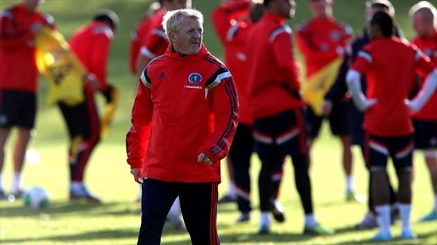 Gordon Strachan is excited ahead of Scotland's clash with the USA