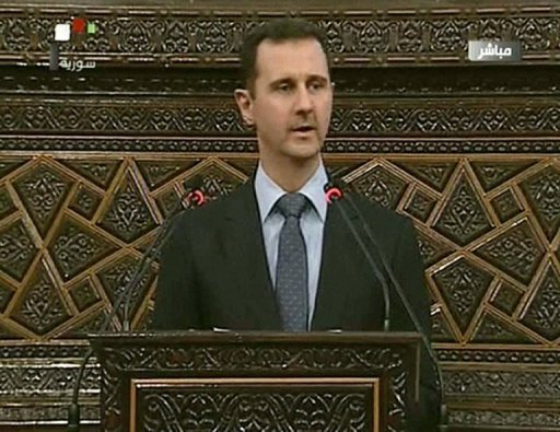 Der syrische Prsident Baschar al-Assad wirft auslndischen Regierungen vor, einen &quot;Plan der Zerstrung&quot; seines Landes zu verfolgen