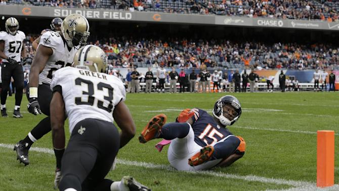 Bears WR Marshall not backing down after loss