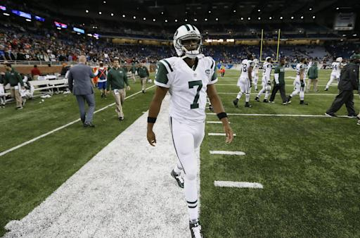 Smith to start at QB for Jets vs. Dolphins on MNF