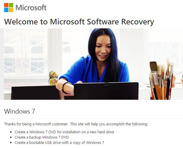 Microsoft now allowing downloads of retail Windows 7 copies