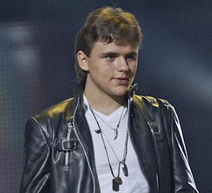 FILE - In this Oct. 8, 2011 file photo, Prince Michael Jackson appears on stage at the Michael Forever the Tribute Concert, at the Millennium Stadium in Cardiff. Michael Jackson's eldest son on June 26, 2013, recounted publicly for the first time what he saw in his father's bedroom on the day of the pop superstar's death. Prince Jackson was the first Jackson family member to testify in a Los Angeles courtroom in the negligent hiring case against concert promoter AEG Live LLC. (AP Photo/Joel Ryan, File) *Editorial Use Only*