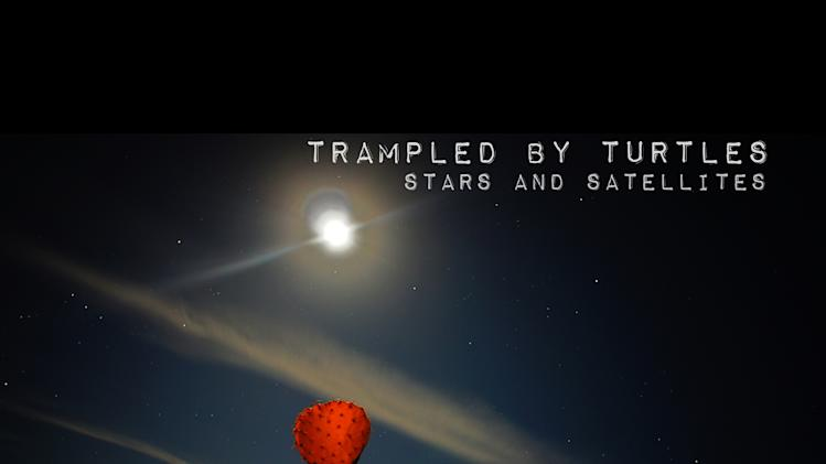 "In this CD cover image released by Thirty Tigers, Trampled By Turtles', ""Stars and Satellites,"" is shown. (AP Photo/Thirty Tigers)"