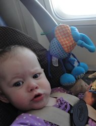 Flying can be a stressful event, especially when flying with children.