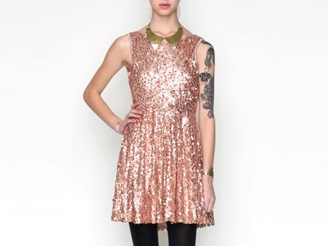 Need Supply Flore Sequin Dress