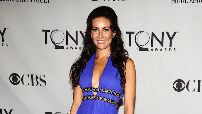 """FILE - This June 12, 2011 file photo shows actress Laura Benanti at the 65th annual Tony Awards in New York. Benanti, who won a Tony in the Broadway revival of """"Gypsy,"""" has a new album titled, """"In Constant Search of the Right Attention."""" (AP Photo/Charles Sykes, File)"""