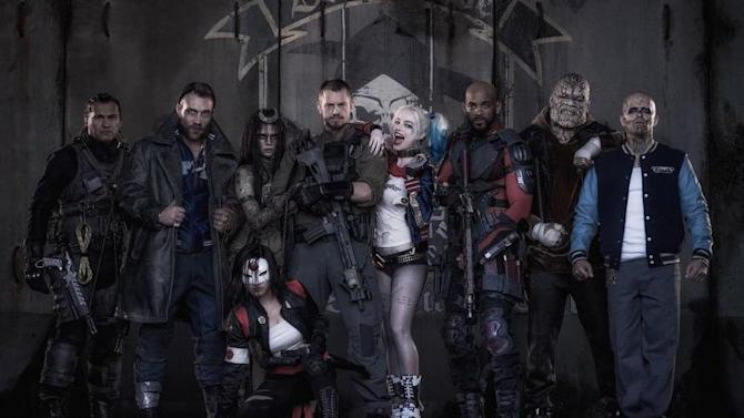 This is Harley Quinn and the rest of the Suicide Squad