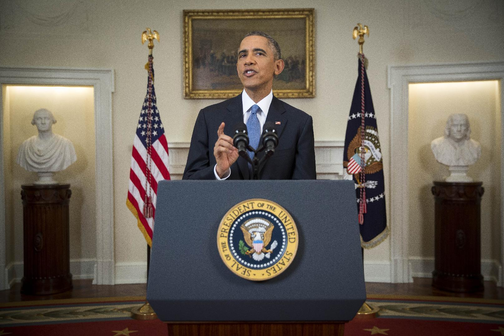 Obama takes foreign policy risk, but on his own terms