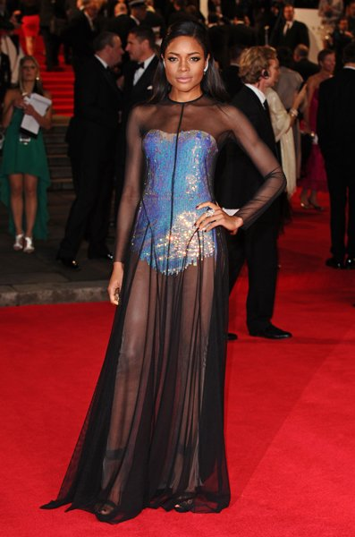 Naomie Harris at the world premiere of Skyfall © Rex