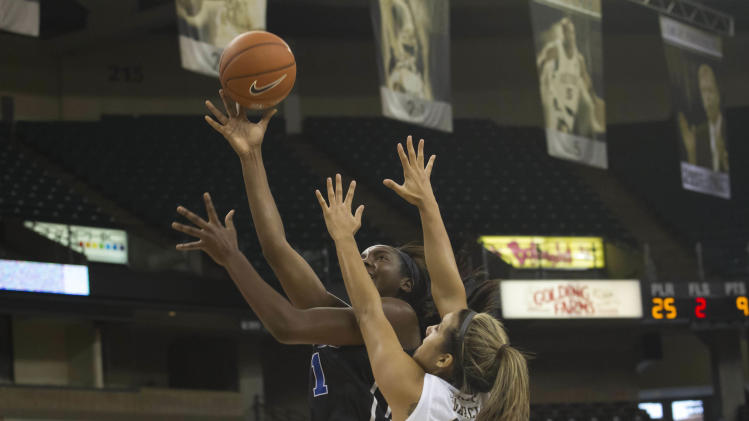 NCAA Womens Basketball: Duke at Wake Forest