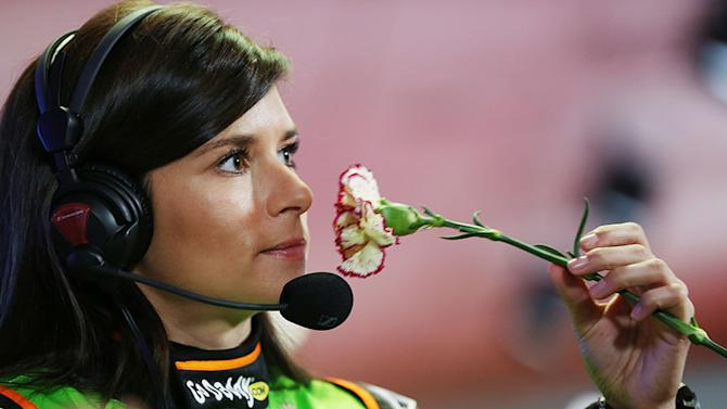Danica speaks about her love life at Daytona