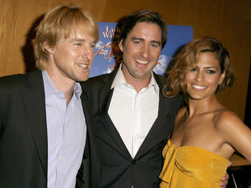 Owen Wilson , Luke Wilson , director and Eva Mendes at the Los Angeles premiere of THINKFilm's The Wendell Baker Story