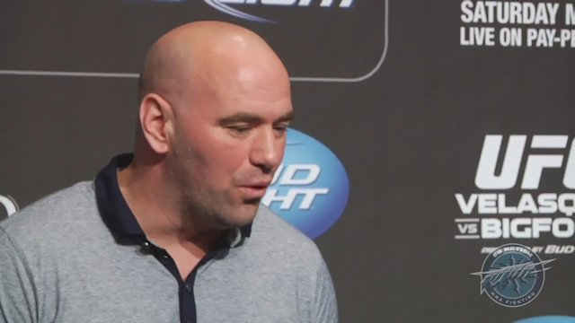 Dana White UFC 160 pre-fight scrum video