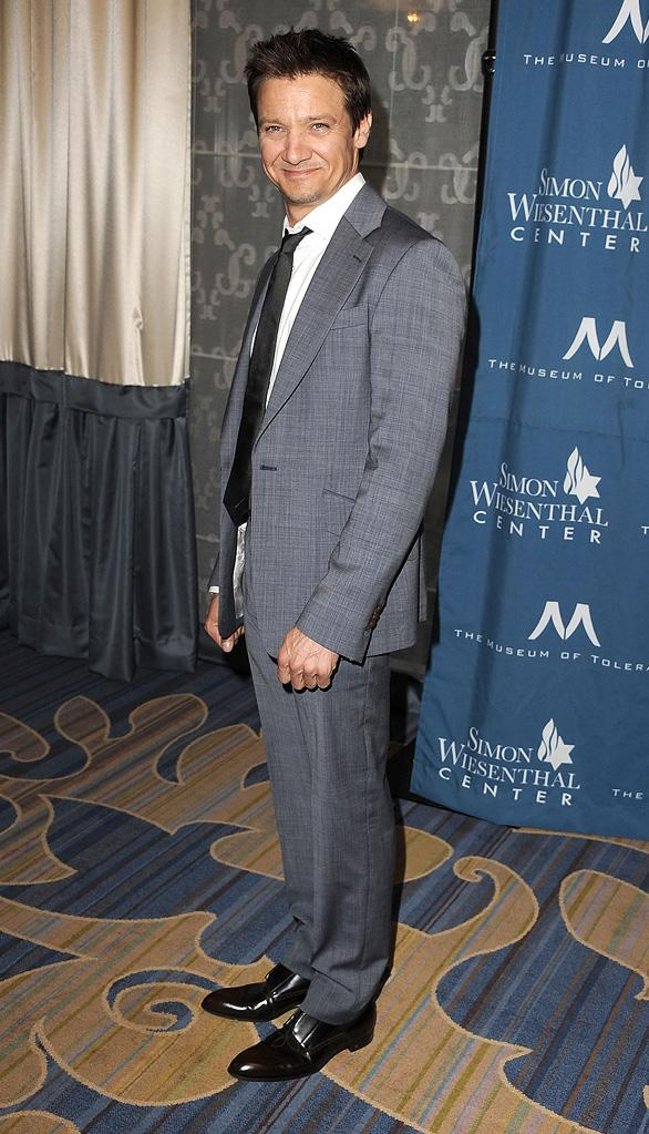 Wisenthal Center National Tribute honoring Tom Cruise 2011 Jeremy Renner