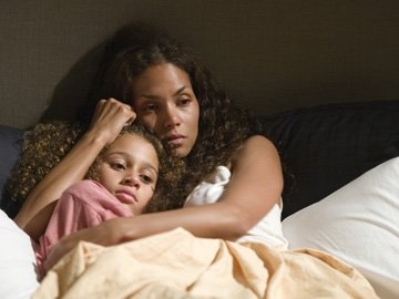 Alexis Llewellyn and Halle Berry in DreamWorks Pictures' Things We Lost in the Fire