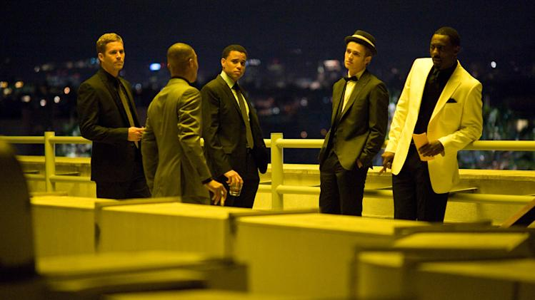 Takers Production Photos Screen Gems 2010 Paul Walker TI Michael Elay Hayden Christensen Idris Elba