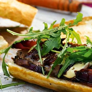 steak baguette