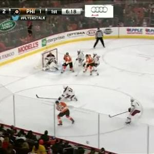 Mike Smith Save on Nick Schultz (13:42/1st)