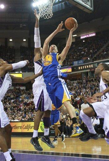Thornton, Evans lead Kings over Warriors in OT