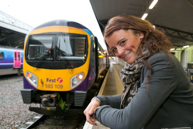Rachie Owen is set to become the youngest female train driver - fulfilling a life long ambition (Caters)