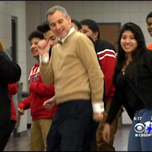 Local H.S. Teacher & Students Talk Viral Dance Video