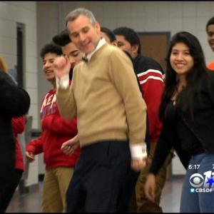 Local H.S. Teacher & Students Talk Viral Dance Video