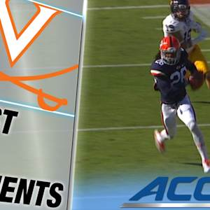 Virginia's Maurice Canady Snags Pick-Six | ACC Must See Moment
