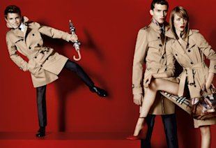 Romeo Beckham Steals The Show In Burberry Spring Summer 2013 Campaign