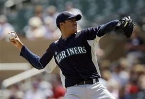 Noesi goes 7 innings in last tuneup for Mariners