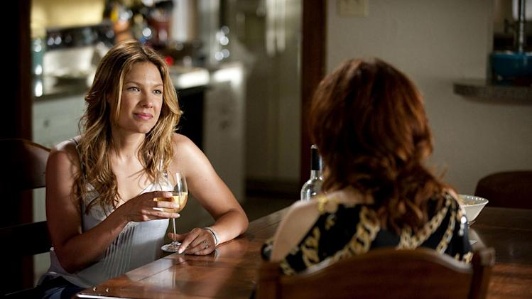 "Kiele Sanchez as Callie Cargill in ""The Glades."""
