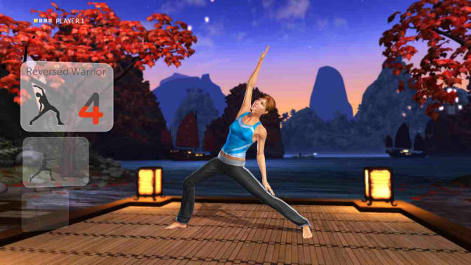 "This undated publicity photo provided by Ubisoft Entertainment shows the fitness video game, ""Your Shape: Fitness Evolved 2013,"" for Ubisoft Wii U. (AP Photo/Ubisoft Entertainment)"